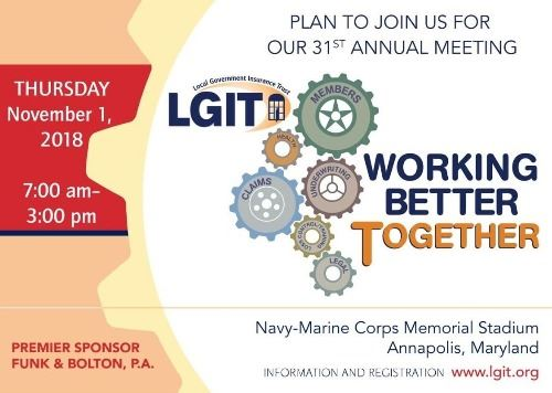 LGIT's 31st Annual Meeting - November 1, 2018